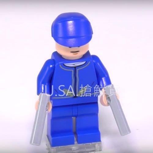 現貨【LEGO 樂高】全新正品 益智玩具 積木 / 星際大戰: 聖誕月曆 75146   單一人偶: 貝斯平+武器
