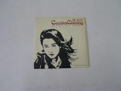 ///李仔糖CD唱片*2000年張柏芝首張國語同名專輯.READY FOR LOVE單曲宣傳片.二手CD