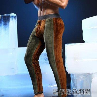 保暖褲男士加厚加絨褲修身毛褲大棉褲