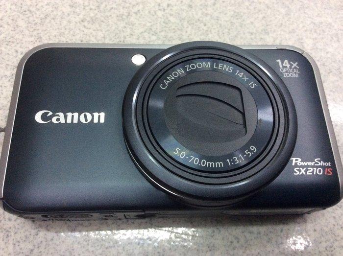 [保固一年] [高雄明豐] CANON Power Shot SX210 IS 類單數位相機 g12 g15 g11