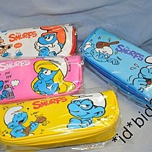 韓國直送 藍精靈 Smurf 筆袋 化妝袋 (現貨) (包郵) Smurfs