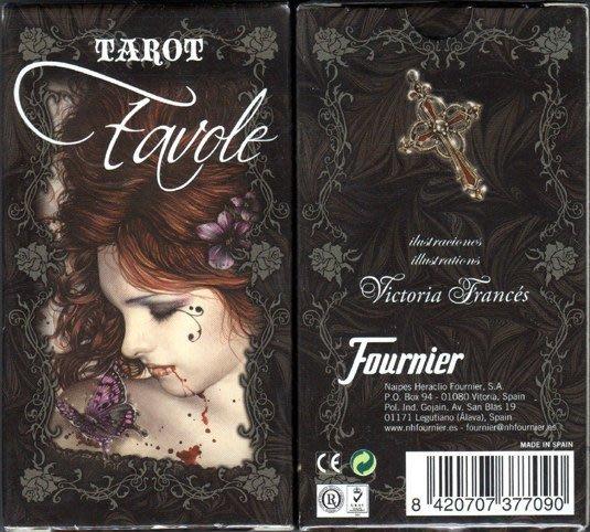 【牌的世界】維多莉亞(吸血鬼)塔羅牌Victoria France's Favole Tarot (78張)