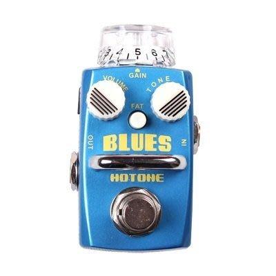 ☆ 唐尼樂器︵☆公司貨一年保固 Hotone BLUES Overdrive 電吉他/電貝斯 Bass 單顆過載效果器