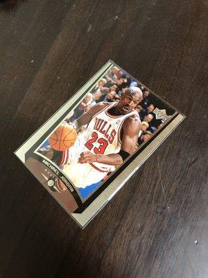 MICHAEL JOEDAN    1999 UD  123  SAMPLE  樣品卡 前後卡況如圖