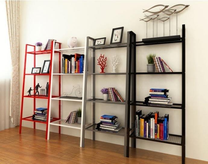 時尚四層置物收納架 寬版 書架 居家收納 收納櫃 置物架 收納 IKEA 【AB500100】