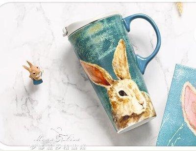 卡通馬克杯水杯陶瓷杯禮盒裝咖啡杯大容量送禮萌寵