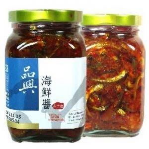 品興海鮮醬(三瓶)
