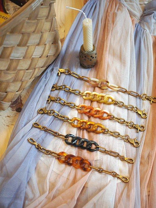 淘淘樂-甜甜圈凹型定制款亞克力手拎包帶配件元氣滿滿女包手提短鏈條