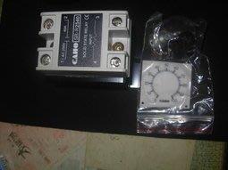 現貨簡易型電力調整器40A現貨 CAHO SR  R2540 SSR固態電譯 單相ac250V40A INPUT+ VR