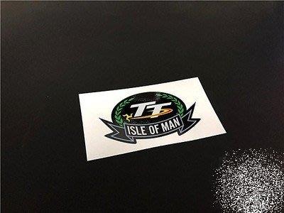 焌婕車貼-[現貨+預購]曼島 TT RACES ISLE OF MAN 賽車 yamaha 羅西 反光 防水 貼紙 車貼