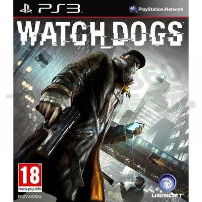 【二手遊戲】PS3 看門狗 WATCH DOGS 中文版 限定版 鐵盒版【台中恐龍電玩】