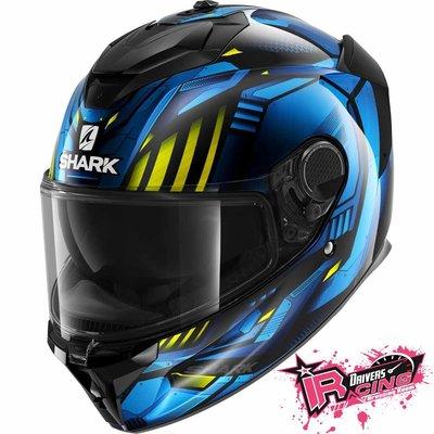 ♚賽車手的試衣間♚ Shark® Spartan GT Replikan Blue 安全帽