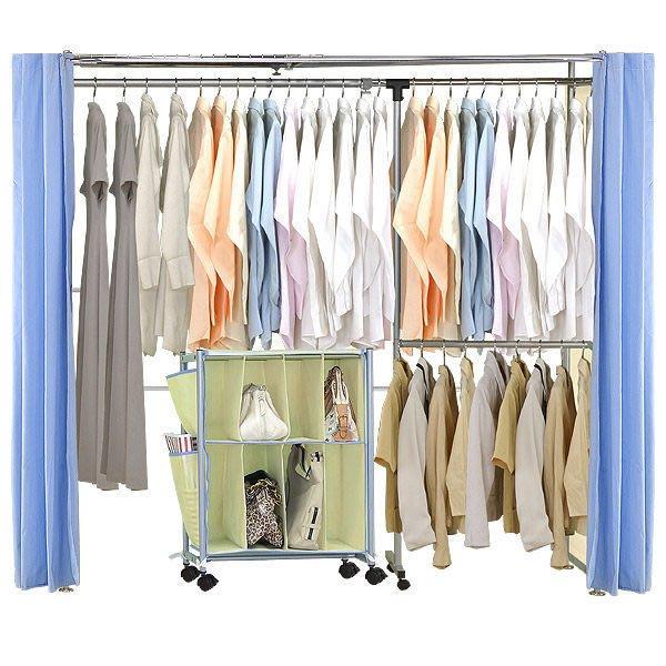 衣櫃【家具先生】AH-11 簡單生活系列伸縮衣櫥 (衣櫃/衣架)《附收納袋