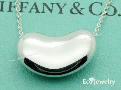 《Eco-jewelry》【Tiffany&Co】經典 最新款大相思豆(無刻字款)項鍊 純銀925項鍊~專櫃真品已送洗