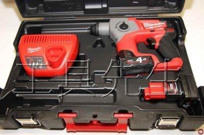含稅價/m12ch-402c【工具先生】美國 Milwaukee 米沃奇 12V 鋰電 無刷 四溝 免出力 鎚鑽