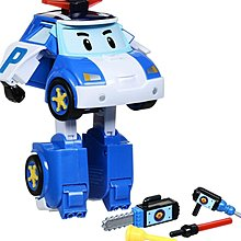 Silverlit Robocar Poli Transforming Robot with Lighting - Poli (5 inches Tall)