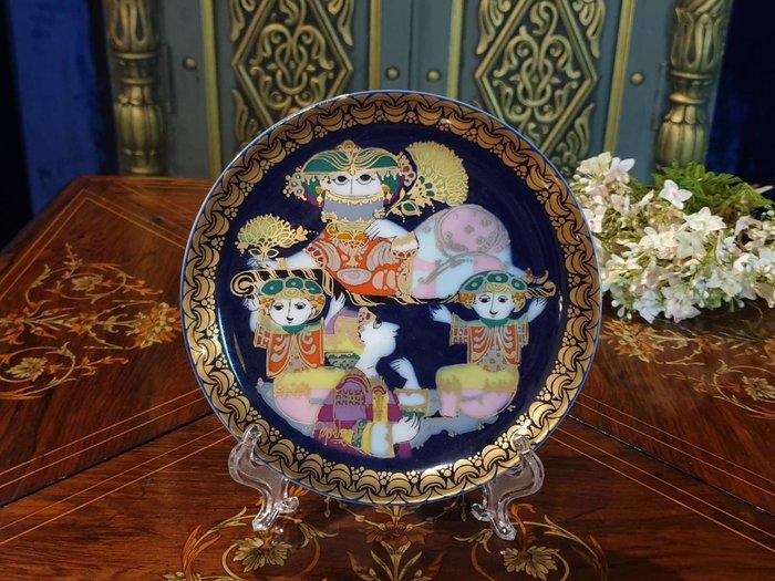 【卡卡頌 歐洲古董】1979 德國 Rosenthal  羅森泰   手工   瓷盤   p1896 ✬