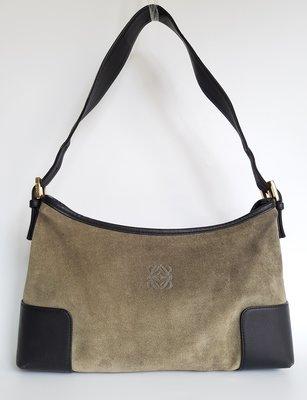 LOEWE 經典 LOGO 肩背包   附原廠防塵袋,超級特價便宜賣    保證真品
