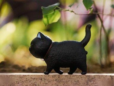 【QQ公仔物語】【AA111】【現貨】ACTOYS 不二馬大叔 貓鈴鐺 大花貓 12cm 單賣 黑貓