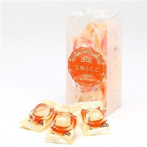 日本點心名店 榮太樓 頻果原汁糖 精選青森縣蘋果原汁古法熬煮而成  一盒12顆