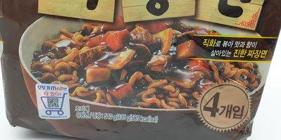 韓國不倒翁 韓式炸醬麵 540g(4入/包) 香味濃郁 麵條Q彈 韓國必買 解餓