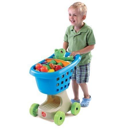 美國 Step2小幫手購物車 《強化腳部的肌力發展,教導孩子收納的概念》◎童心玩具1館◎