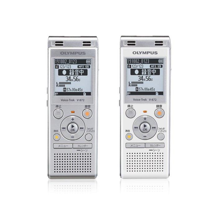 日本代購  OLYMPUS V-872 數位 錄音筆 日文介面 錄音機 臨場感 工作  USB 兩色 4GB 預購