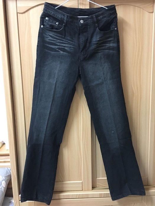 。☆二手☆。LIBERTY直筒牛仔褲//腰寬38cm褲長106cm