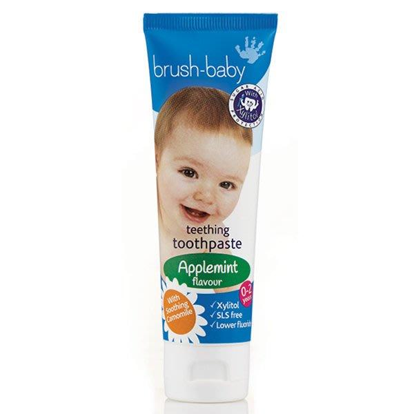 英國brush-baby寶寶木糖醇牙膏(天然洋甘菊/50ml) -樂活美遞