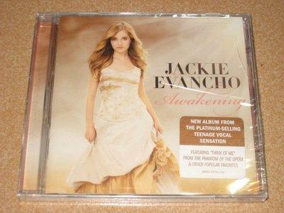 美版 CD《小賈姬》夢醒時分/ JACKIE EVANCHO Awakening 全新未拆