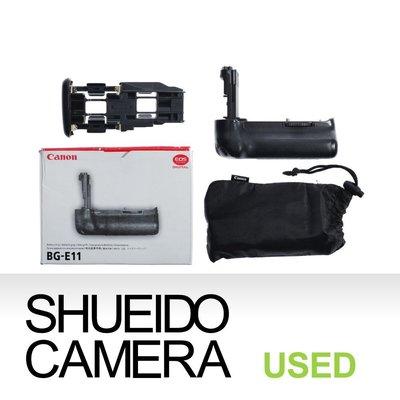 集英堂写真機【1個月保固】中古實用品 /  CANON BG-E11 BGE11 電池手把 5D3 用 11824 台北市