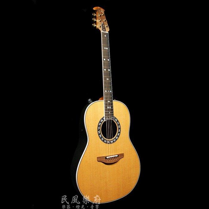 《民風樂府》美廠 Ovation 1627GC-4 Glen Campbell 頂級珍藏簽名琴 傳奇經典 雋永不凡