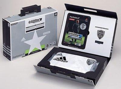 PS2 世界足球競賽 7 國際版 特別限定版 supported by adidas (勝利足球7) 純日版 全新品