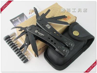 網路工具店『GANZO關鑄 多功能工具鉗-黑色』(型號 G201B) #2