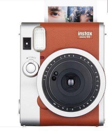 【優上精品】拍立得mini90 自拍相機套裝 壹次成像膠片 instax m(Z-P3103)