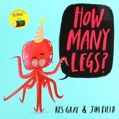 *小貝比的家*HOW MANY LEGS/平裝/3~6歲/數字 /【李貞慧文法力】
