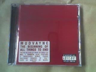 (下標即結標)SONY發行-Mudvayne冒犯樂團-The Beginning Of All Things To End滅絕開端