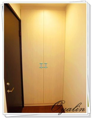 【歐雅系統家具】 系統衣櫃 收納櫃 伸縮衣架 吊衣桿 防潮塑合板 (門板另計)