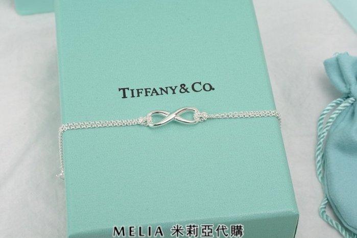 Melia 米莉亞代購 Tiffany&Co. 925純銀 2018Sss Tiffany 蒂芙尼 雙鍊手環 無限標誌