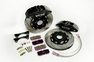 【優質輪胎】VTTR鍛造超級六活塞355MM浮動碟盤+來令片(AUDI A4 RS4 AP JBT BREMBO)三重