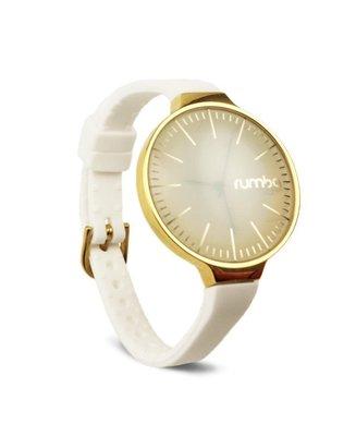 預購 美國代購 Rumba time 全品項代購 35mm 超美吸睛時尚女性潮流設計手錶 金框 矽膠錶帶