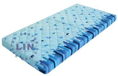 【品特優家具倉儲】S106-07床墊單人床墊胖胖墊立體輕盈床墊3*6尺