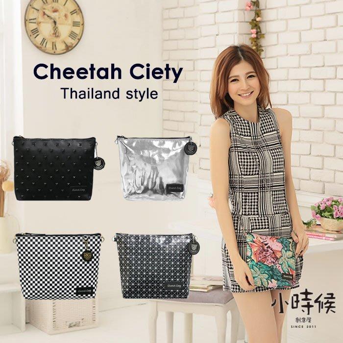 ☆小時候創意屋☆ 獵豹Cheetah Ciety 包 泰國原創設計 CC包 曼谷包/BKK包/收納包/手機包/側背包