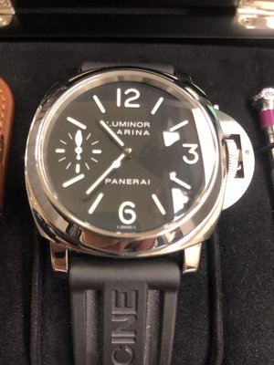 【RECOVER名品二手】沛納海 Luminor Marina PAM111 . 附盒 錶帶 說明書 保卡 9.5成新