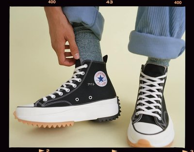 【路克 Look】Converse x JW Anderson Run Star Hike 164840C 限量鞋 黑色