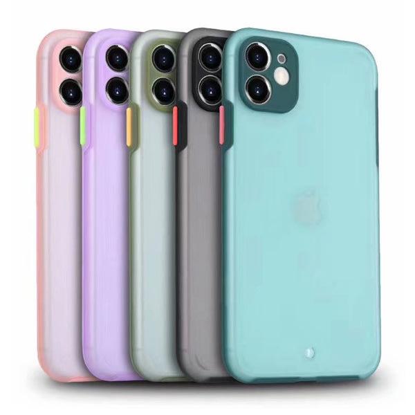 蘋果 iPhone11 Pro Max iPhoneXS Max XR iPhone8 SE 2020 手機殼 撞色拼接