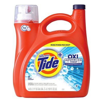 【Visual&M】Tide 汰漬 OXI亮白護色洗衣精 4.43公升 好市多代購 Costco
