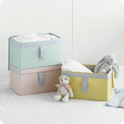 家居收納 收納整理 優思居 可折疊帆布藝收納箱 家用裝衣服的箱子大號衣物玩具整理箱