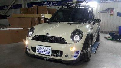 %【KoSoKu高速空力技研】% mini r50 r53 改 r20 全車保桿套件 排氣管 pp塑膠材質 ~實車改裝