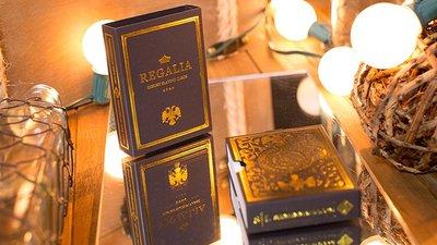【天天魔法】【S924】正宗原廠~(黑色)王權~Shin Lim撲克牌(Regalia Playing Cards)